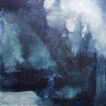 Nachtblau 2011, Acryl auf Lwd. 50 x 60 cm