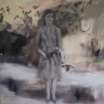 Weltall, Erde, Mensch 2011, Acryl auf Lwd. 200 x 200 cm