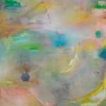 Pfirsichstaat 1 2012, Öl auf Lwd. 145 x 155 cm