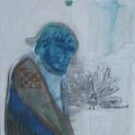 Rosen für Opium, mit Ellen Wagner, 2012, 15 x 15 cm