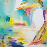 Der verlorene Horizont 2 2012, Öl auf Lwd. 195 x 165 cm