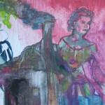 Rosen für Opium, mit Ellen Wagner, 2012, 18 x 13 cm