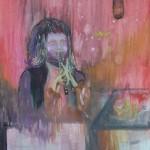 Rosen für Opium, mit Ellen Wagner, 2012, 18 x 24 cm