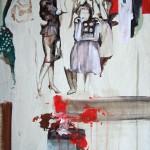 Moderne Kunst 2007, Acryl auf Lwd. 61 x 46 cm