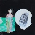 Rosen für Opium, mit Ellen Wagner, 2012, 20 x 20 cm