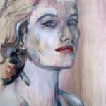 Grace 2007, Öl auf Hartfaser 40 x 50 cm