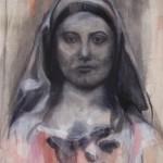 Maria Intensiver 2008, Acryl auf Lwd. 70 x 95 cm