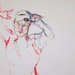 Busenfreundschaft 2, mit Julia Winter, 2010, Acryl auf Lwd. 120 x 135 cm